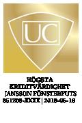 UC där Jansson Fönsterputs har högst kreditvärdighet